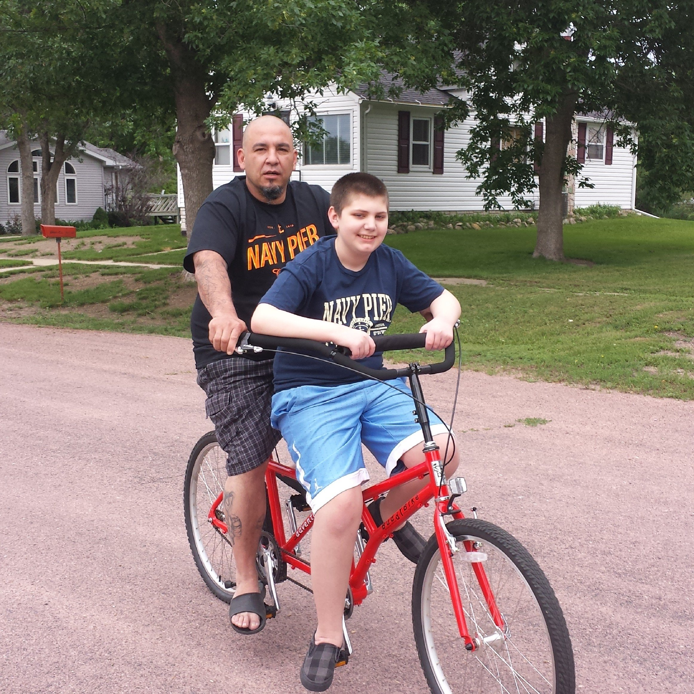 Bikes For Children With Special Needs rides his Buddy Bike